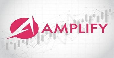 Logo da Amplify Exchange (PRNewsfoto/Substratum)