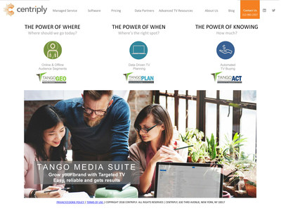 Digital marketers can add TV campaigns via APIs to their dashboards with Centriply