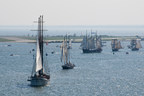 The tall ships will visit five ports in Ontario next summer, Toronto, Sarnia, Midland, Kingsville and Brockville. (CNW Group/Water's Edge Festivals & Events)