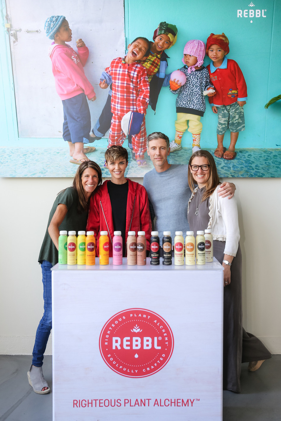 Ruby Rose Joins REBBL to Fight for Social Justice