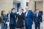 HRH The Duke of York, KG Visits Peking University HSBC Business School
