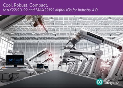 Maxim Integrated New Digital lnput ICs for Manufacturing Automation