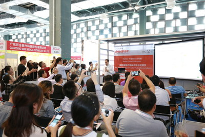 Onsite complimentary activity (PRNewsfoto/Medtec China)
