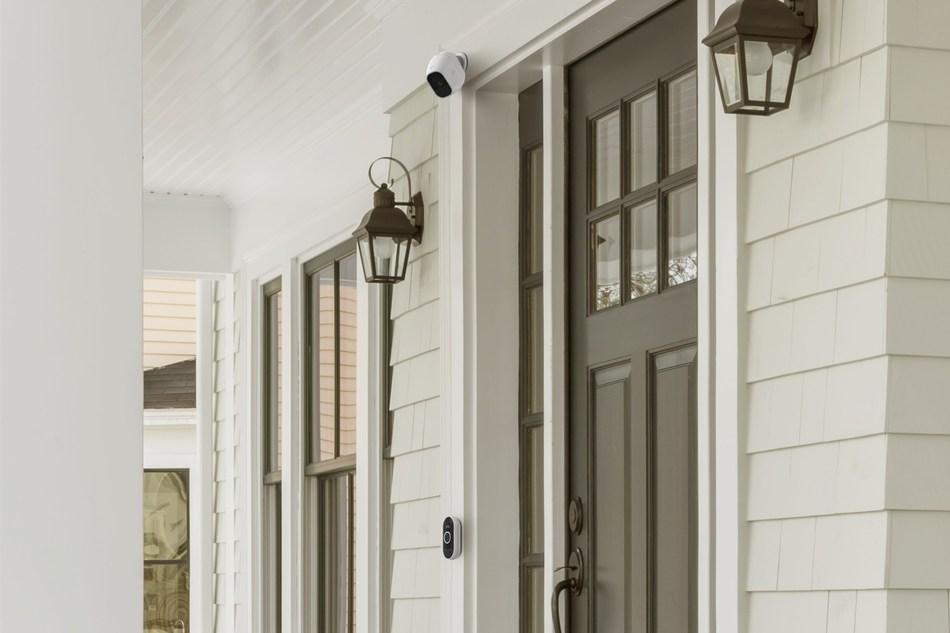 Arlo Audio Doorbell and Arlo Chime