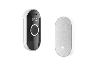 Arlo Audio Doorbell and Arlo Chime