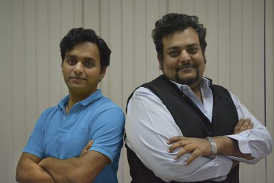 Mohit Agarwal and Anuj Gupta, Founders of Adda52.com invest in edutech startup, iChamp (PRNewsfoto/Gaussian Networks)