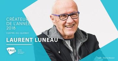 Laurent Luneau, récipiendaire du prix Créateur de l