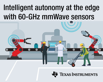 Highest-resolution single-chip mmWave sensors from TI enable intelligent autonomy at the edge