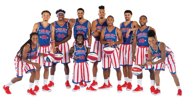 The Harlem Globetrotters unveil their 2019 Rookie Class, including the son of Globetrotters legend and a player from Notre Dame's Women's NCAA Championship
