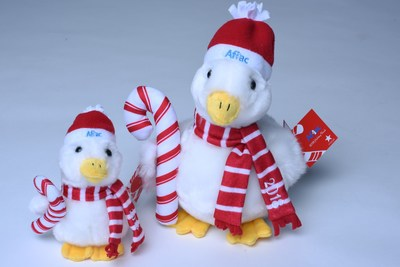 The 2018 Aflac Holiday Duck is available at participating Macys and online at AflacChildhoodCancer.org, priced at $10 for the six-inch duck and $15 for the ten-inch duck. All of the net proceeds go to The Aflac Foundation for distribution to the nearest participating children's cancer facility to where the duck is purchased.