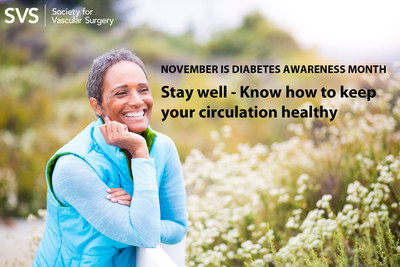 Many diabetes complications are the result of poor circulation. This November, Diabetes Awareness Month, learn how to keep your vascular system healthy.