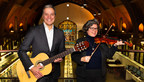 Six additional Montréal libraries will benefit from the Musical Instrument Lending Library program sponsored by Sun Life Financial Canada. Thanks to a donation of 100 new instruments valued at $30,000, loans will be offered at the Roxboro, Frontenac, Père-Ambroise, Mordecai-Richler, Pointe-aux-Trembles and Robert-Bourassa branches, in addition to the 13 other libraries where it is available since 2016. From left to right: Robert Dumas, President and CEO, Sun Life Financial Québec, and Christine Gosselin, Ville de Montréal executive committee member responsible for culture, design and heritage. (CNW Group/Ville de Montréal - Cabinet de la mairesse et du comité exécutif)