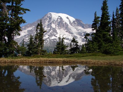 Mount Rainier National Park Photo courtesy of NPS