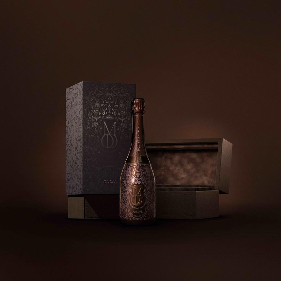 Mod Sélection Rosé Bottle & Packaging
