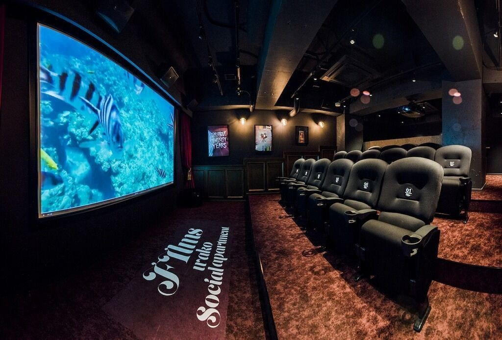 The centerpiece of the property is a 40-square-meter theater space with 16 industry standard movie seats, the same ones you actually find in new high-end movie theaters. Also, sporting an enormous 150-inch screen coupled with an industrial grade 4K EPSON projector and a 7.1 channel JBL surround sound system, the experience has never been more real.