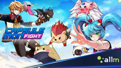 Allm Launches a Real-Time Turn Based Mobile PvP Game, 'Capsulemon Fight', in 137 Countries on November 8th