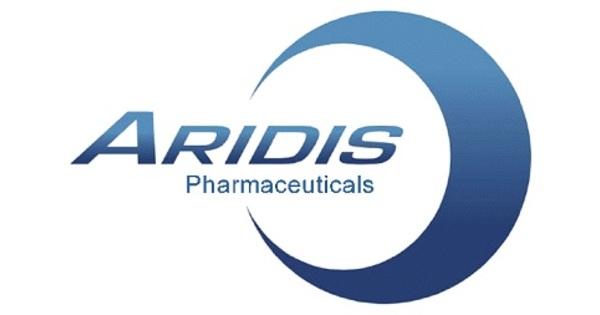 Aridis Pharmaceuticals Announces Third Quarter 2019 Results