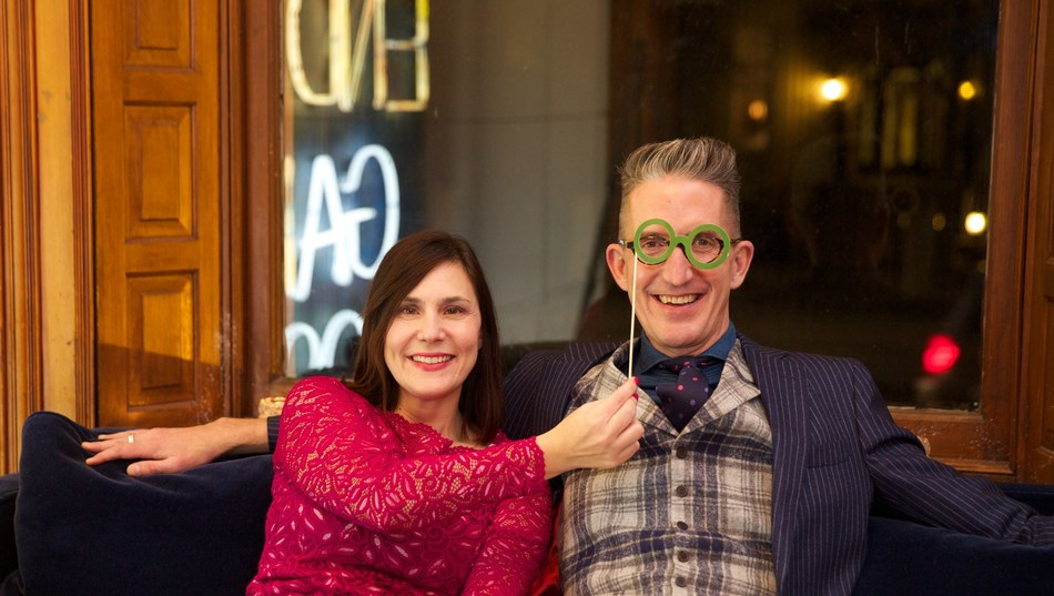 APEX Public Relations managing partners Linda Andross and Ken Evans are celebrating 20 years of operation – closing the year as the business' most successful to date. (CNW Group/Apex Public Relations)