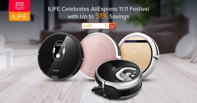ILIFE Celebrates AliExpress 11.11 Festival with Deals of up to 51% off