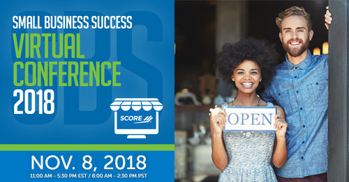 Thousands of entrepreneurs and small business owners are slated to attend tomorrow's Small Business Success Virtual Conference, hosted by SCORE. Held on Nov. 8 from 11 a.m. to 5:30 p.m. ET, the Small Business Success Virtual Conference replicates a real-life conference experience without the hassle of traveling. Programming will include keynote speeches by business experts, one-on-one business mentoring, networking chat rooms and exhibitor booths.