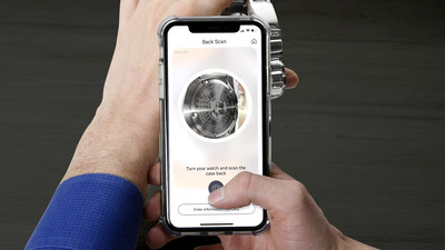 Citizen creates a watch app to help streamline the watch registration process.