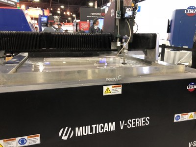 MultiCam CNC V-Series Waterjet System