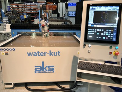 AKS Cutting Systems, Cleveland OH, water-kut system.