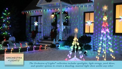 The Orchestra of Lights™ collection is available only at Lowe's