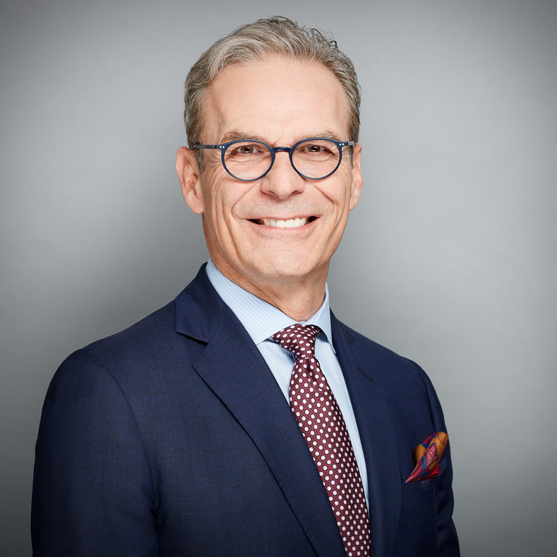 Paul Finkbeiner, appointed Executive Vice-President, Global Head of Real Estate, Great-West Lifeco. (CNW Group/Great-West Lifeco Inc.)