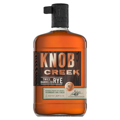 Knob Creek® Introduces Knob Creek® Twice Barreled Rye To Its Award-winning Rye Whiskey Portfolio