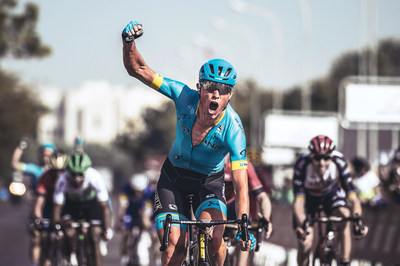 MAGNUS CORT NIELSEN RIDES ROKA SL-1X EYEWEAR TO TOUR DE FRANCE STAGE 15 WIN