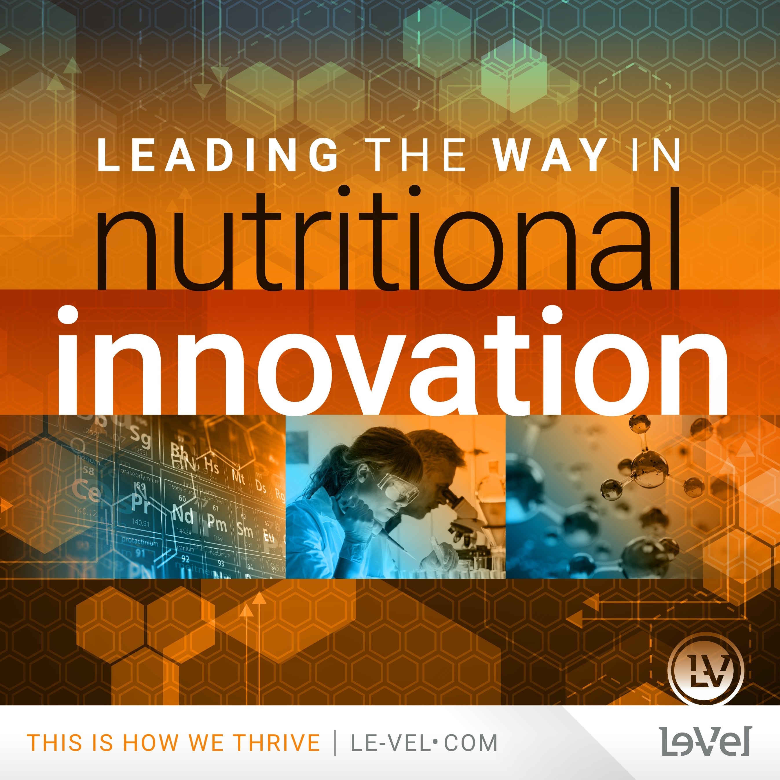 Le-Vel Granted Over 25 Patents Worldwide