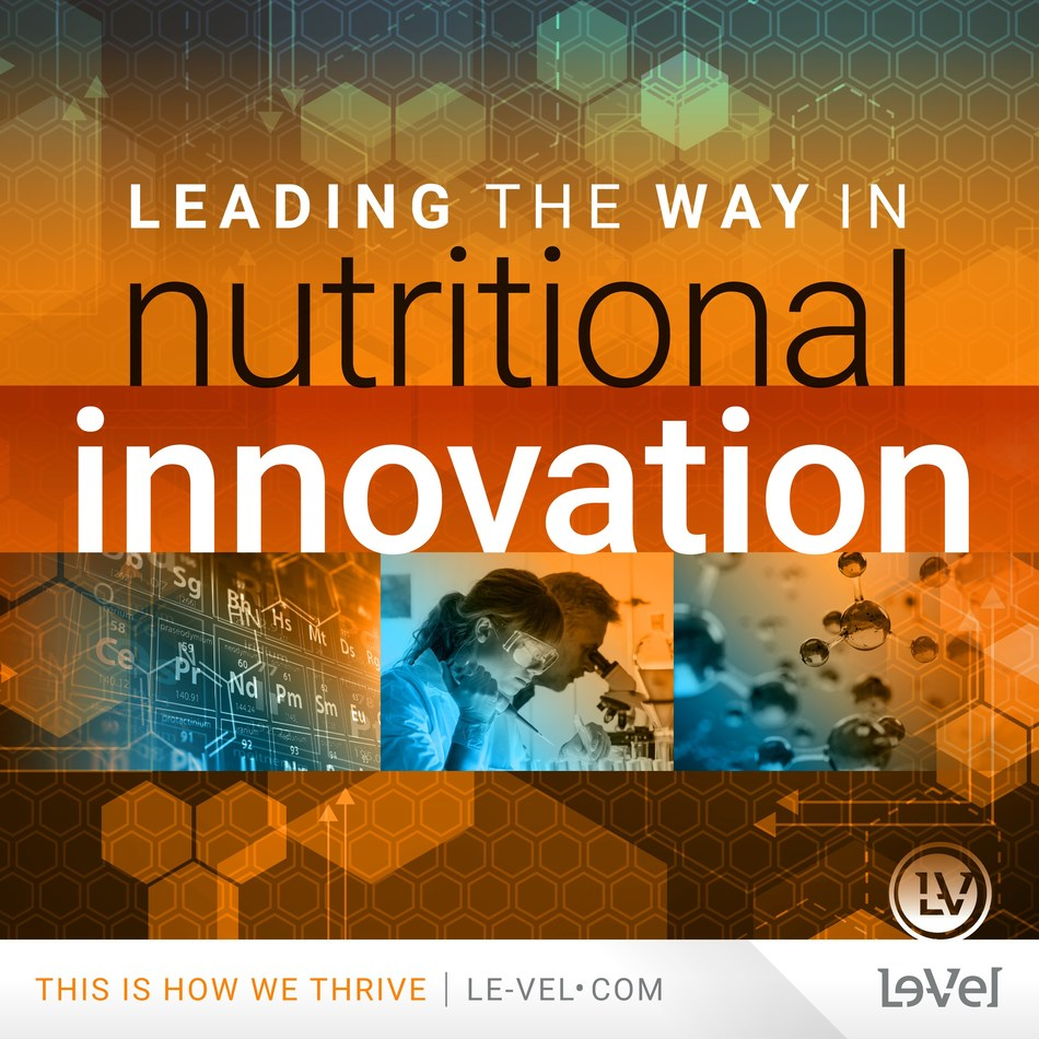 Le-Vel continues to push the boundaries of nutritional technology with over 25 patents worldwide