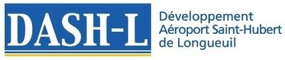 Logo : DASH-L (Groupe CNW/Développement Aéroport de Saint-Hubert de Longueuil)