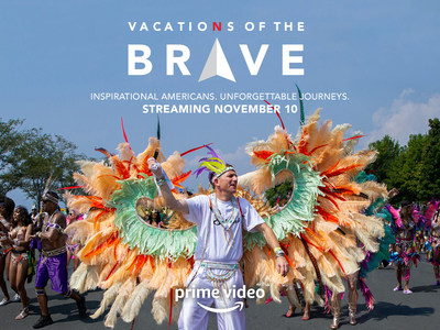 In the first episode of Vacations of the Brave, Dallas ice cream shop owner Tom and his star employee, Kalin, venture to Ontario. They freestyle in the Caribbean Carnival, hoop dance at a First Nations powwow, explore underwater shipwrecks and come to a powerful realization.