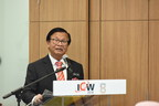 YB Tuan Haji Anuar Mohd Tahir, Deputy Minister of Works delivered his remarks the ICW and ASEAN Super 8 press conference (PRNewsfoto/UBM Malaysia)