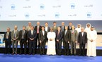 Muscat Compact signed at IRU World Congress to draw a roadmap for the future of global road transport, mobility, trade and logistics. (PRNewsfoto/IRU World Congress)