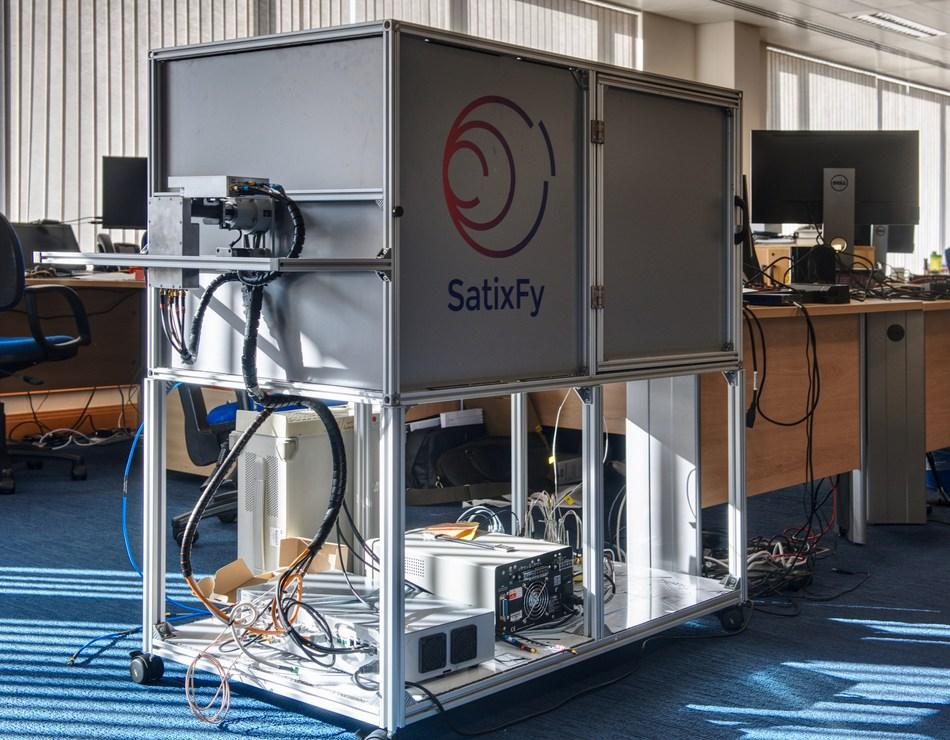 SatixFy's Antenna Micro Test Range (PRNewsfoto/SatixFy)