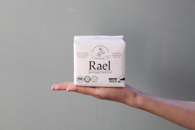 Rael Organic Cotton Pads