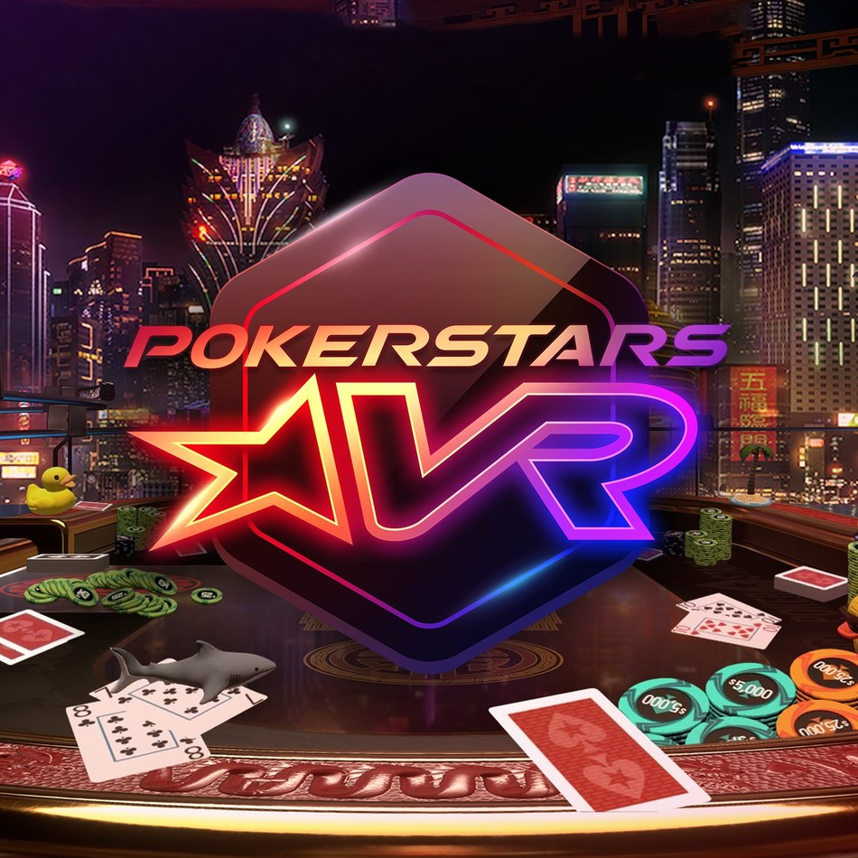 PokerStars VR Brings Poker Into Immersive Virtual Worlds With Oculus Rift and HTC Vive (PRNewsfoto/PokerStars)