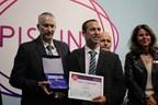 Maytronics wins Innovation Trophy Award at Piscine Global 2018 (PRNewsfoto/Maytronics)