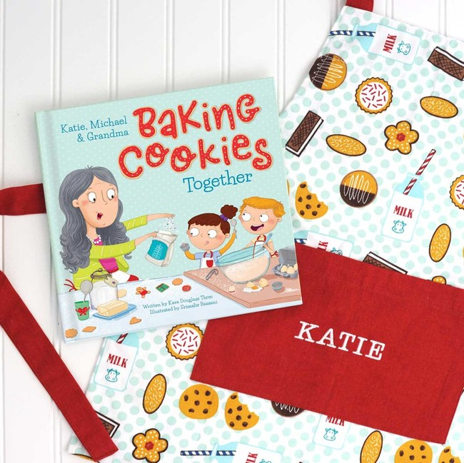 Baking Christmas Cookies Together Personalized Storybook by I See Me!