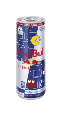 Wakka, wakka, wakka, wiiings! A new limited edition Red Bull® Energy Drink PAC-MAN® can combines two iconic brands born in the 80's, offering special codes under each can tab to unlock a bevy of Red Bull-themed gameplay experiences within the PAC-MAN mobile app. Available nationwide while supplies last.