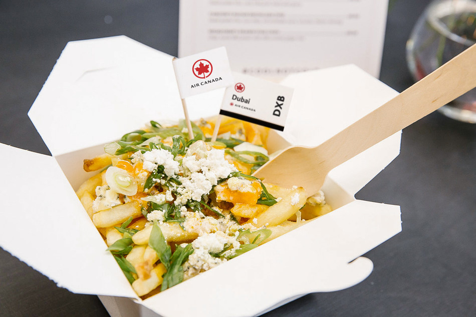 One of the various poutines at Air Canada's Poutinerie. (CNW Group/Air Canada)