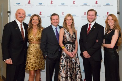 Pictured from left to right at the 2017 St. Jude Detroit Gala are some members of the event planning committee, including: Ghassan Saab and emeritus member of the Board of Governors of St. Jude Children's Research Hospital Manal Saab; Calvin Ford and event co-chair Sarah Ford; Mark and Josee-Anne LaFrance Wakefield.