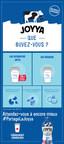 JOYYA – Lancement, d'un lait ultrafiltré 100 % canadien (Groupe CNW/Saputo Inc.)