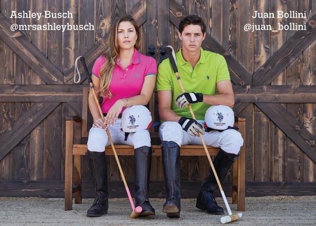 Ashley Busch and Juan Bollini