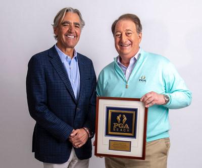 Congratulations 8AM Golf Chairman Howard Milstein New PGA REACH Trustee