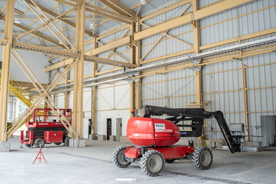 Figure 4. New permanent maintenance shop will have six bays (CNW Group/Lundin Gold Inc.)
