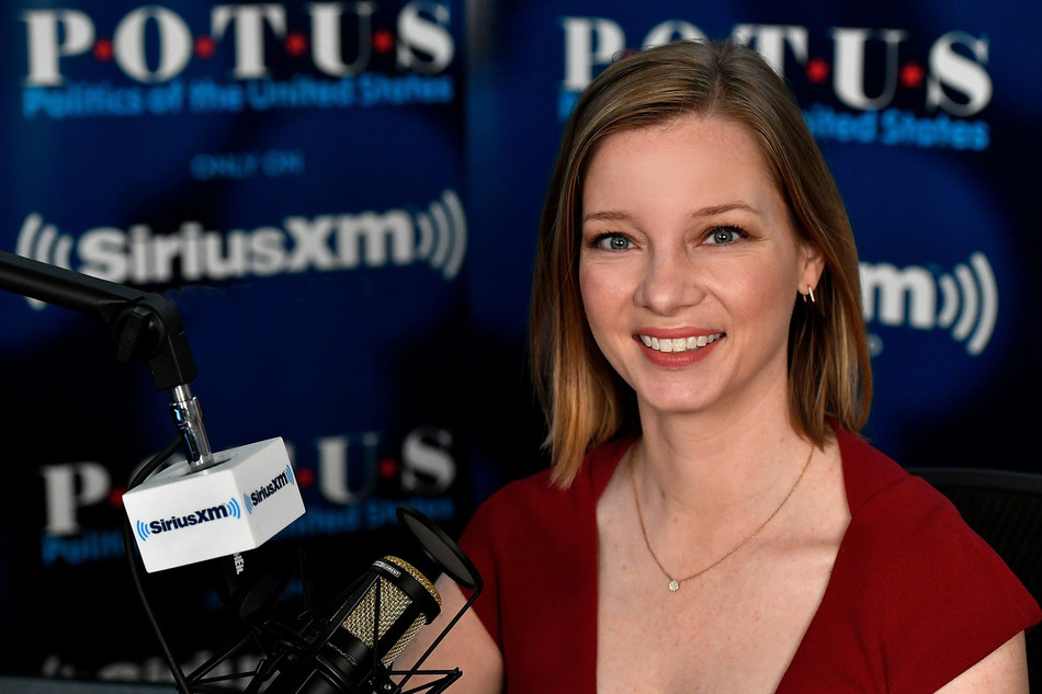 """""""The Trendline with Kristen Soltis Anderson"""" will air Saturdays at 10:00 a.m. ET on SiriusXM P.O.T.U.S. channel. Photo credit Larry French/Getty Images for SiriusXM. (PRNewsfoto/Sirius XM Holdings Inc.)"""